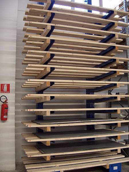 Reggiani Scaffalature Parma.Cantilever Reggiani Scaffalature